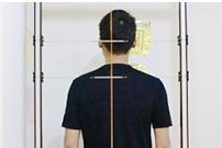 姿勢分析の写真撮影